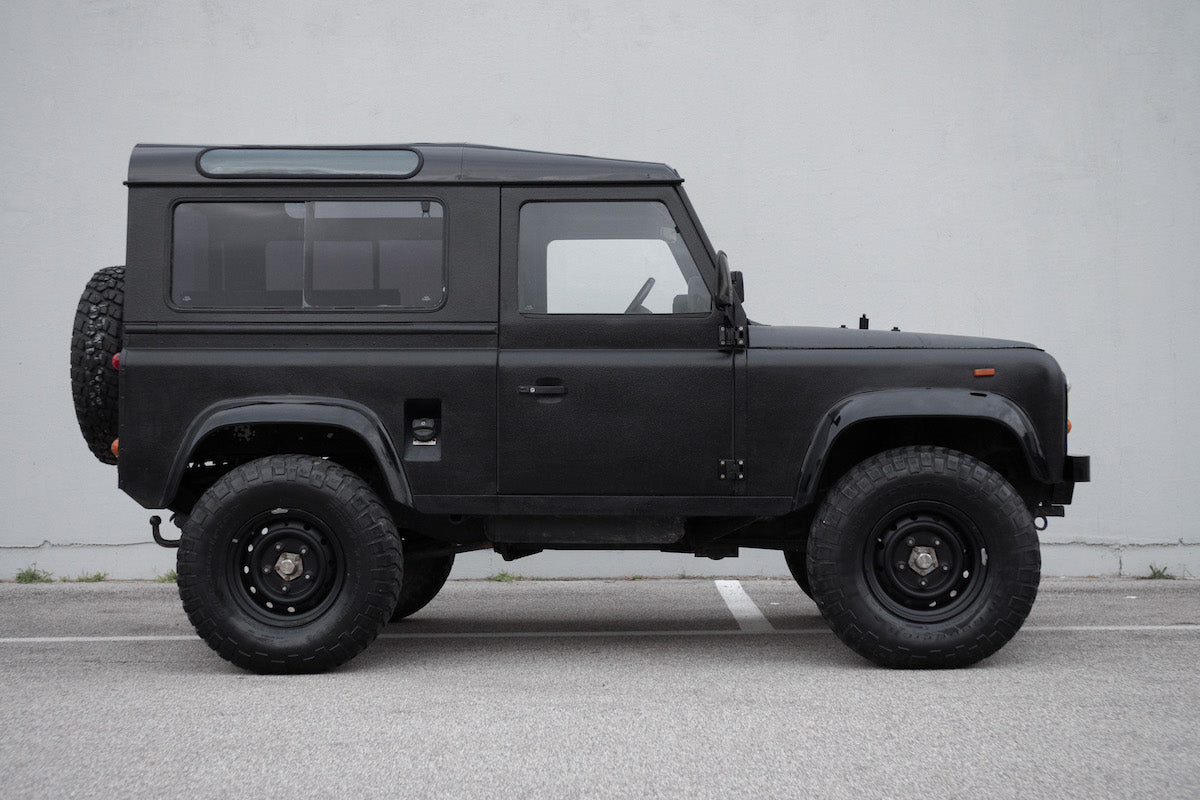 apache custom motorcycles defender 90 company car