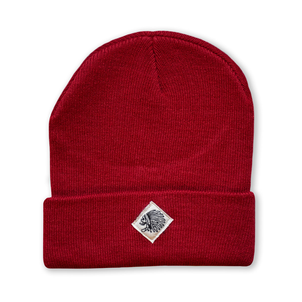 BEANIE - OFF RED