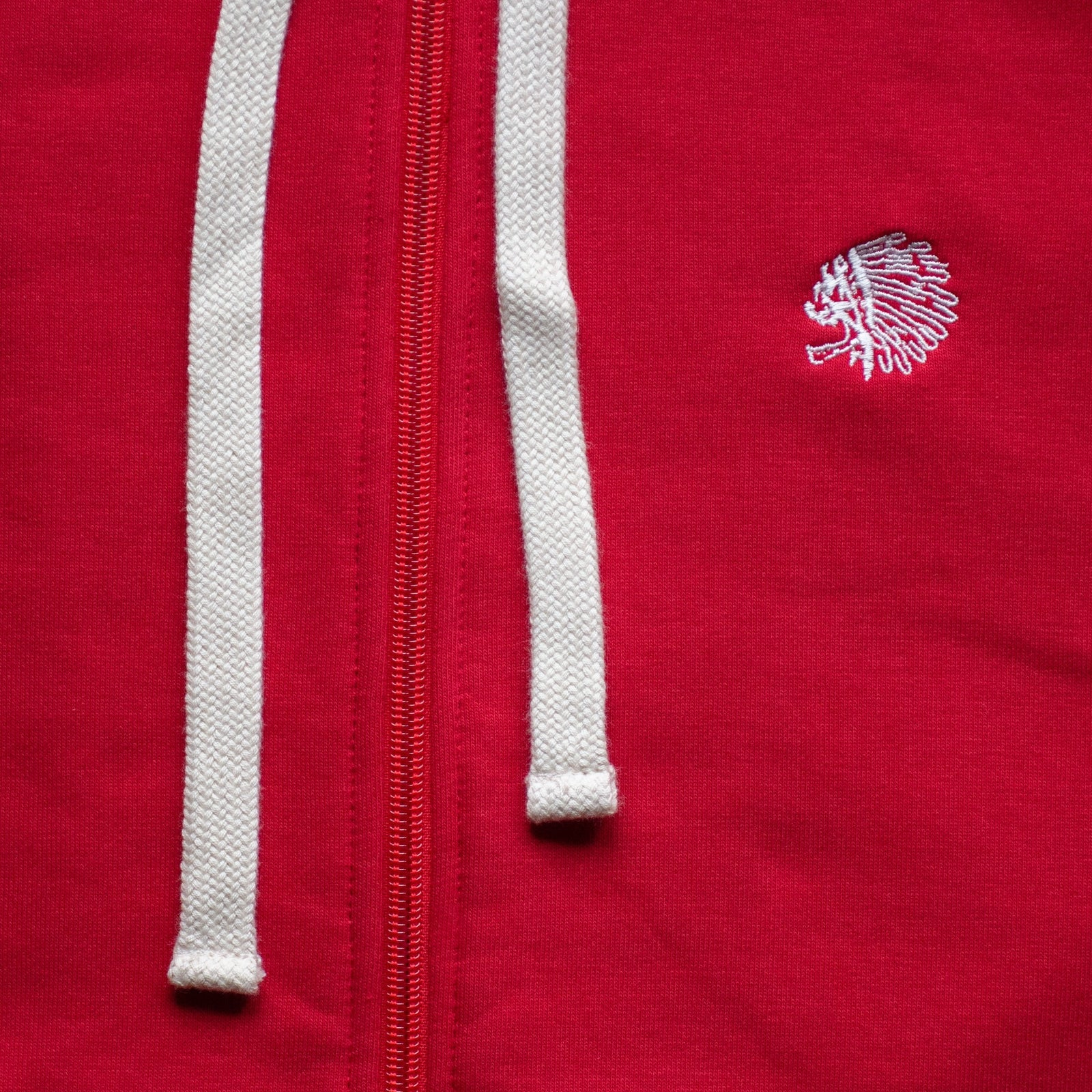 ZIP SWEATSHIRT - RED