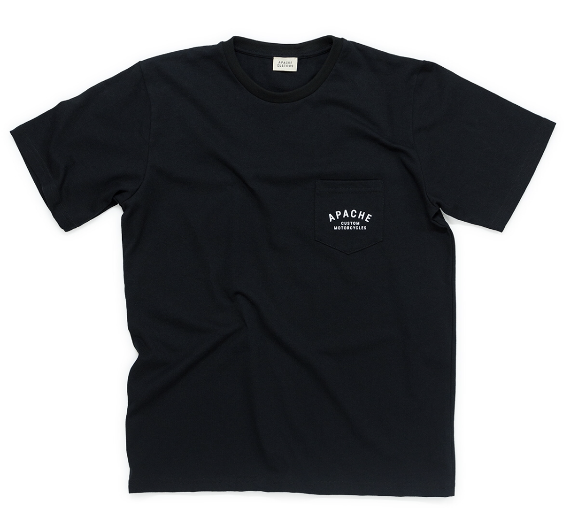 POCKET TEE - BLACK