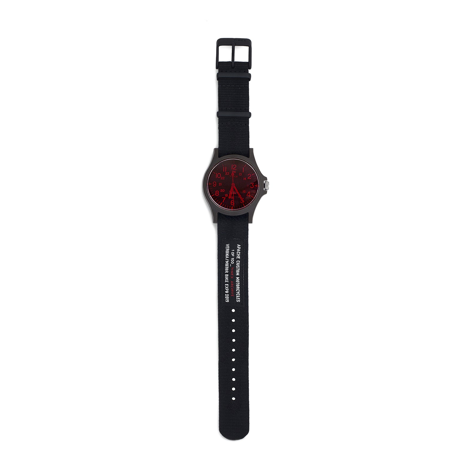 TIMEX LIMITED EDITION WATCH - RED/BLACK