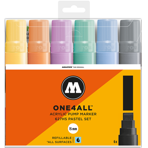 set-con-6-marcadores-acrilicos-one4all-627hs-15-mm-set-pastel-molotow-mexico