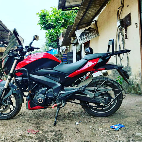 Crash Guard (Type B) for Bajaj Dominar 250 model.