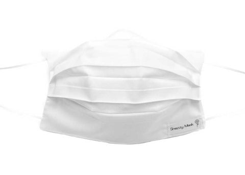 White Cotton Surgical Mask