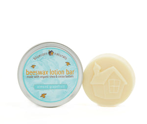 Beeswax Lotion Bar - Almond Grapefruit