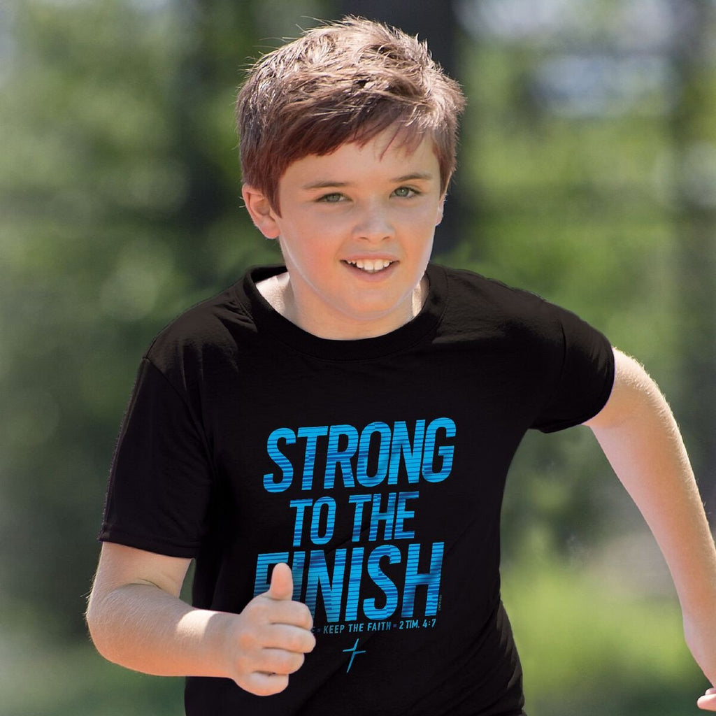 Strong To The Finish Kids Active T-Shirt ™