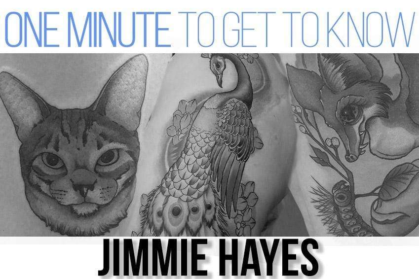One Minute To Get To Know Your Artist: Jimmie Hayes of Liquid Chaos Tattoos