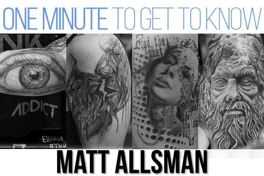 One Minute To Get To Know Matt Allsman