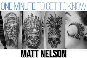One Minute To Get To Know Matt Nelson