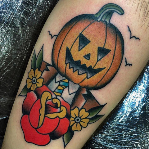 Every day is halloween tattoo