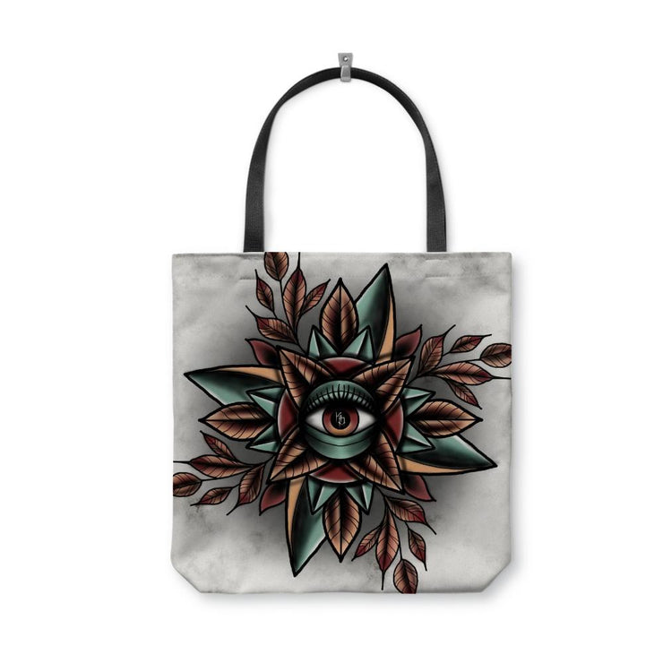 Durant Eye White Tote Bag
