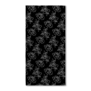 Timmy B Rose Outline Beach Towel