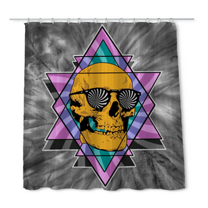 Geary Skull Shower Curtain