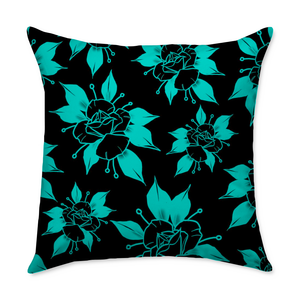 Flipshades Rose II Throw Pillow