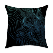 Fults Skull II Throw Pillow