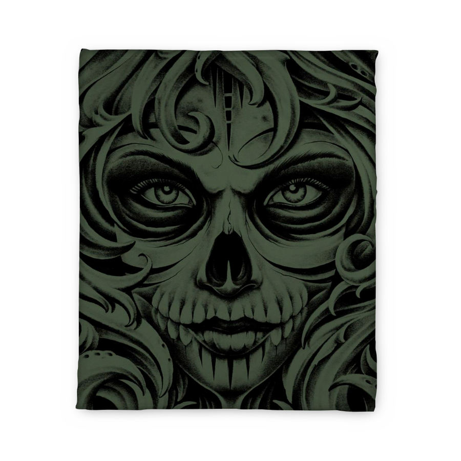 Jensen Death Fleece Blanket