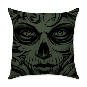 Jensen Death Throw Pillow