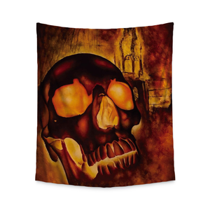 Kelley Skull Wall Tapestry