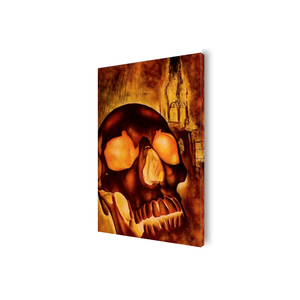 Kelley Skull Canvas