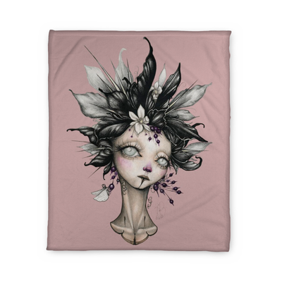 Hathaway Lady II Fleece Blanket