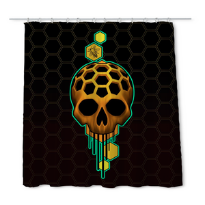 CY Honey Shower Curtain