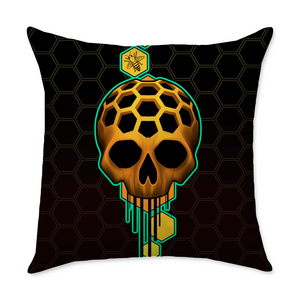 CK Honey Square Throw Pillow