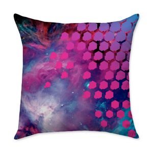 Johnny Andres Orion Square Throw Pillow