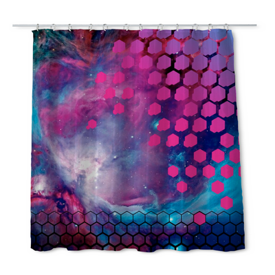 Johnny Andres Orion Shower Curtain