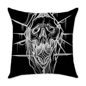 Tyler Nguyen Reaper Square Throw Pillow