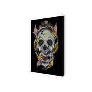 Chavez Skull Canvas