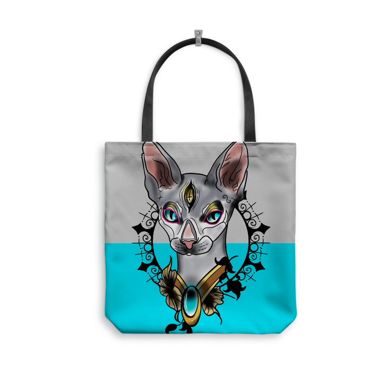 Aybars Cat Tote Bag