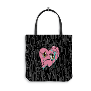 Evans Heart Tote Bag