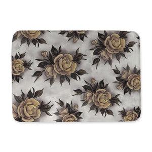 Hume Yellow Rose Bath Mat