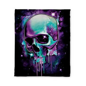 Malek Skull Fleece Blanket