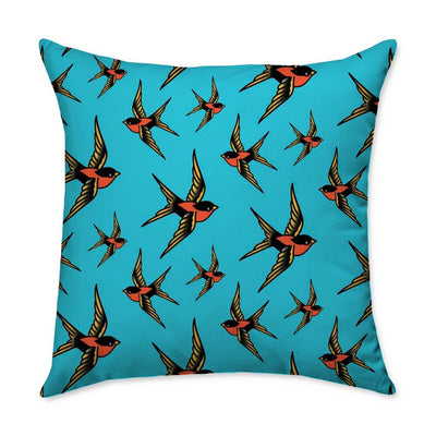 Ford Sparrow Throw Pillow