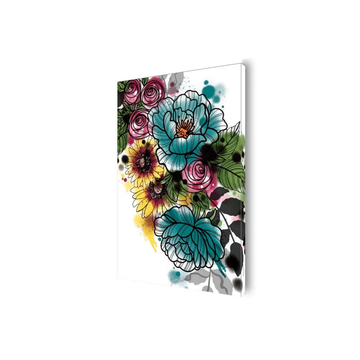 Kristel Flowers Canvas