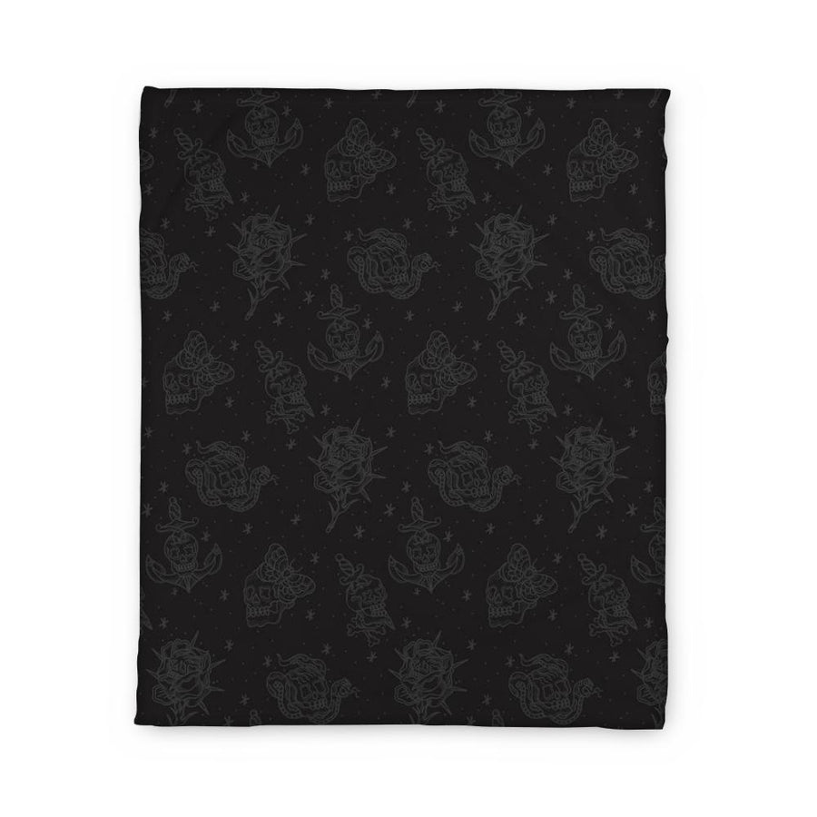 Fults Skulls Fleece Blanket
