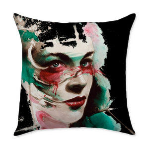 Cotterman Girl I Throw Pillow