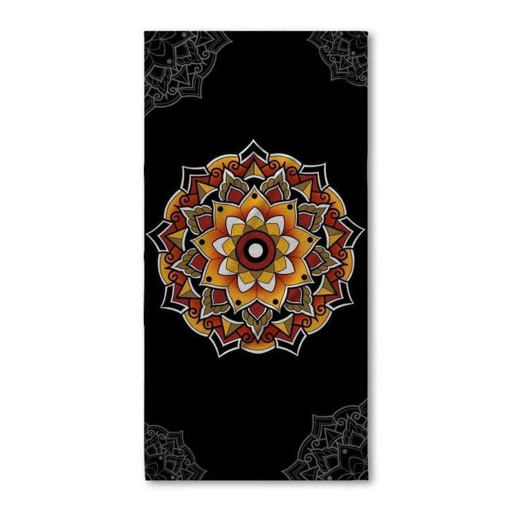 Woods Mandala Bath Towel