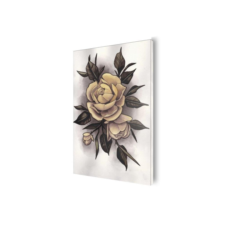 Hume Yellow Rose Canvas