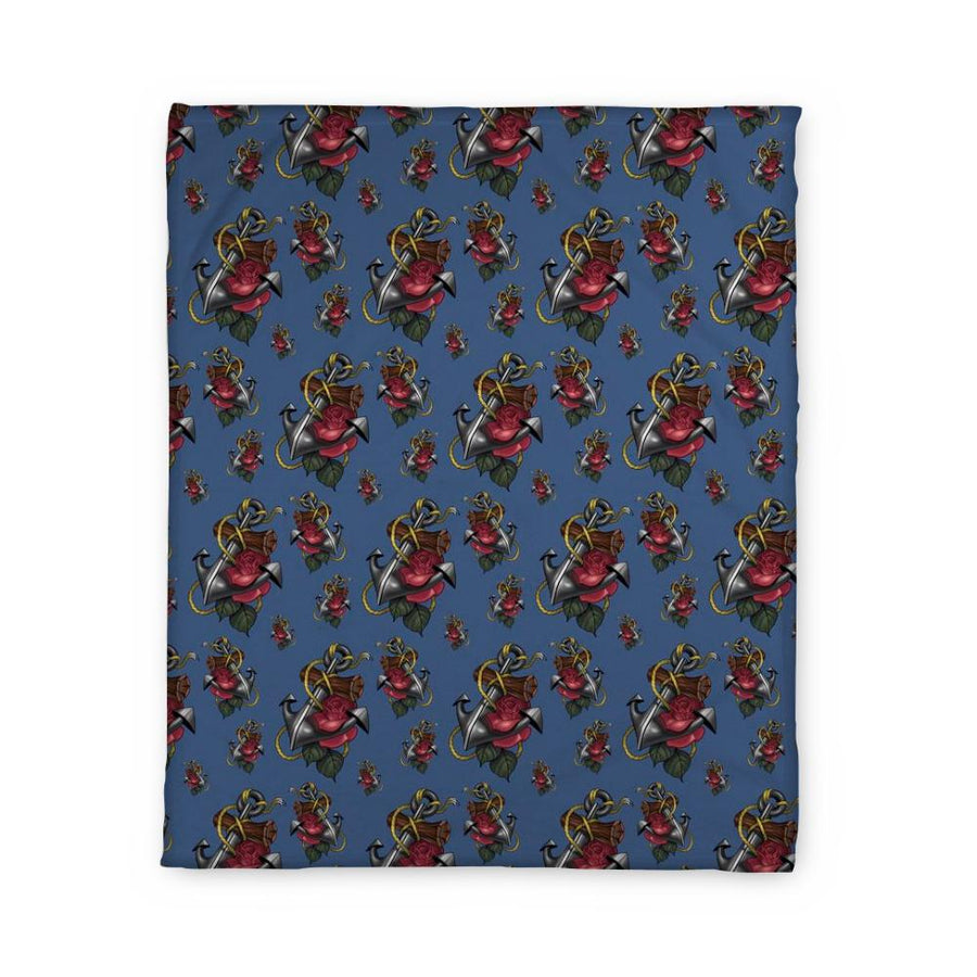 Timmy B Anchor Fleece Blanket