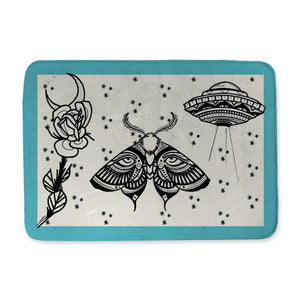 Aldridge Moth Bath Mat