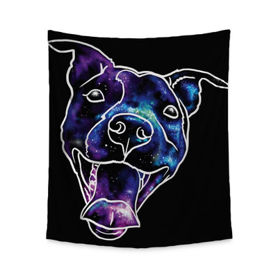 Donovan Pitbull Wall Tapestry