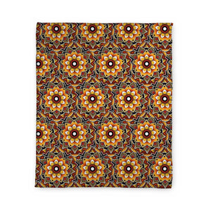 Woods Mandala Fleece Blanket