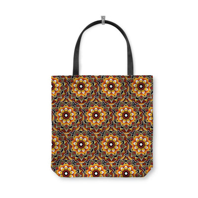 Woods Mandala Tote Bag