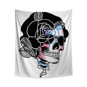 Drews Skull Wall Tapestry