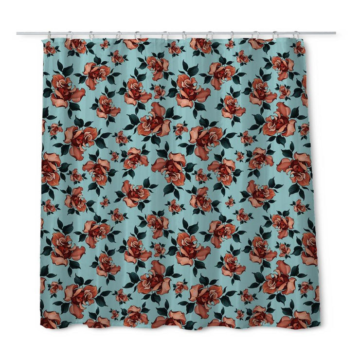 Timmy B Roses Shower Curtain