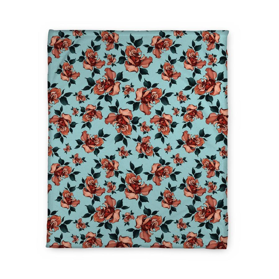 Timmy B Rose Fleece Blanket