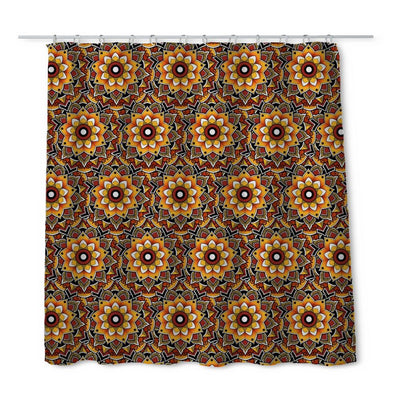 Woods Mandala Shower Curtain