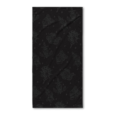 Fults Skulls Bath Towel